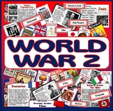 WORLD WAR 2 TEACHING RESOURCES, HISTORY KEY STAGE 2-3 DISPLAY CLASS EDUCATION
