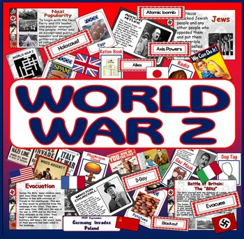 WORLD WAR 2 TEACHING RESOURCES, HISTORY KEY STAGE 2-3 DISP