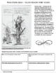 WORLD WAR I UNCLE SAM General Pershing Cartoon WWI PRIMARY SOURCE