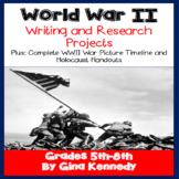 World War II Writing and Research Projects Plus Complete P