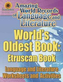 WORLD'S OLDEST BOOK: ETRUSCAN BOOK—Language & Literature W