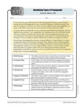 WORLD'S OLDEST PROPAGANDA: SUMERIAN LIST OF KINGS—Language Worksheets