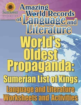 WORLD'S OLDEST PROPAGANDA: SUMERIAN LIST OF KINGS—Language