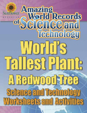 WORLD'S TALLEST PLANT: A REDWOOD TREE—Science Worksheets and Activities