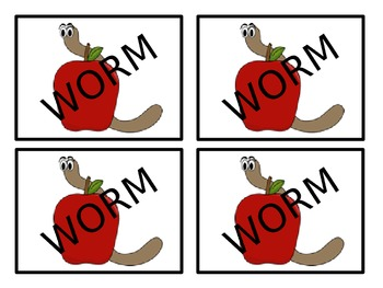 WORM Letter Game