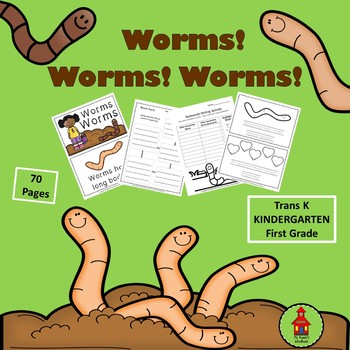 WORMS! Writing, Reading, and Vocabulary Skills
