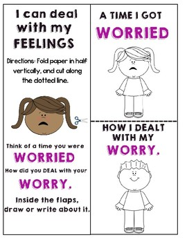 WORRY ACTIVITY BOOK
