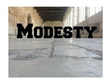 WOW Assembly on Modesty-Word Of the Week -Modesty