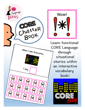 WOW: Interactive CORE City Chatter Book