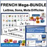 Core French Phonics & Sight Word MEGA-Bundle. GET IT NOW!