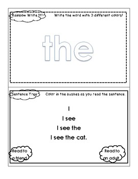 WOW Sight Word Weekly Books