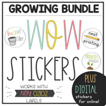 WOW Stickers Growing Bundle