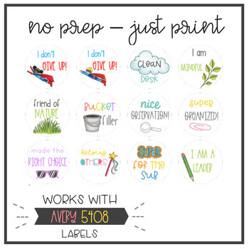 WOW Stickers - Social Emotional