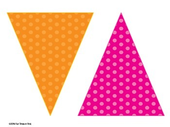 WOW WRITERS! Banner {Bright Polka Dot Theme}