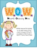 WOW: Wonderful Outstanding Words  {6+1 Trait of Word Choice}