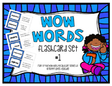 WOW Word Vocabulary Flashcards Set 1