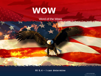 WOW ~ Word of the Week