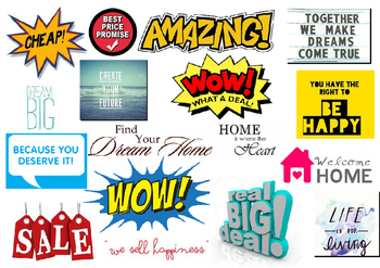 WOW Words- Persuasive Posters