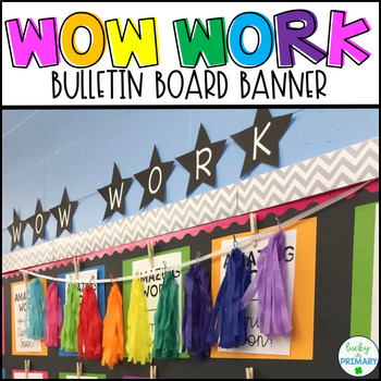 WOW Work Banner Printable