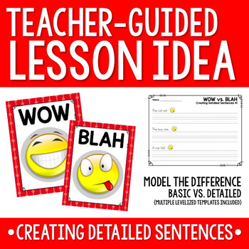 Sentence Writing - WOW vs. BLAH