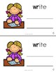WR Book- Beginning Digraph Phonics Book- Color and Black & White Copy