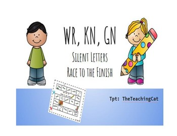 WR, KN, GN Silent Letters Race to the Finish