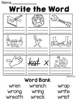 The Homeschool Den: Spelling: Silent Letters