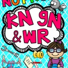 WR KN GN (Silent Letters) Worksheets & Activities {NO PREP!}
