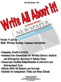 WRITE ALL ABOUT IT: SIMPLE BUT CREATIVE COMMON CORE LESSON