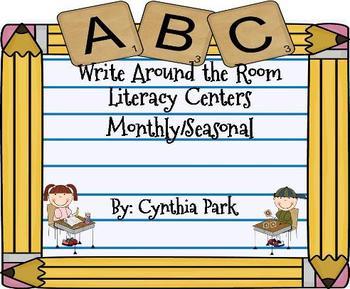 WRITE AROUND THE ROOM LITERACY CENTERS