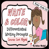 Write and Color Opinion Writing Prompts {Differentiated an