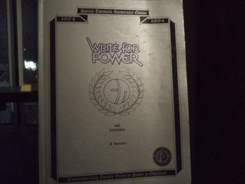 WRITE FOR POWER    WITH ENCHIRIDION