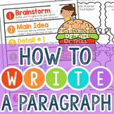 How to Write a Paragraph K-2 Curriculum