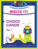 Multiple Intelligences: WRITE IT! CHOICE CARDS® - SET 1