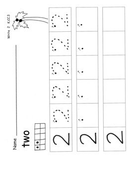 WRITE NUMBERS to 10 Coconuts *Sample Pages 1-3