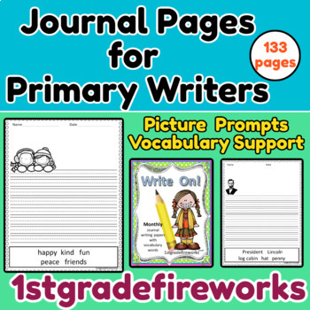 WRITE ON!  12  Months of Journal Writing Papers