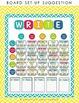 WRITE ON!  Writing Workshop Bulletin Board *EDITABLE*
