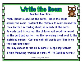 WRITE THE ROOM First Grade Reading Street UNIT 2 ~ BONUS: Sort It! Game Included