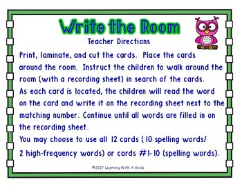WRITE THE ROOM First Grade Reading Street UNIT 4 ~ BONUS: Sort It! Game Included