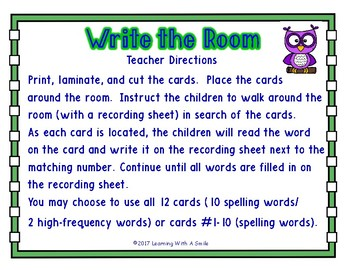 WRITE THE ROOM First Grade Reading Street UNIT 5 ~ BONUS: Sort It! Game Included