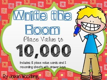 WRITE THE ROOM Place Value to 10,000