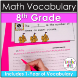 WRITE THE ROOM with Math BUNDLE - 8th Grade
