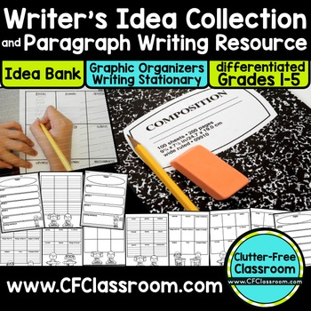 Paragraph Writing Packet