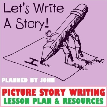 PICTURE STORY WRITING LESSON AND RESOURCES