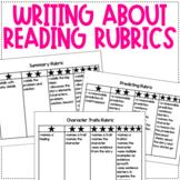 WRITING ABOUT READING RUBRICS!