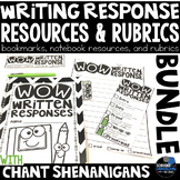 WRITING ABOUT TEXT WITH TEXT EVIDENCE with CHANT SHENANIGA