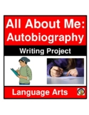 WRITING ASSIGNMENT- AUTOBIOGRAPHY- LANGUAGE ARTS- NO PREP