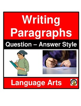 WRITING ASSIGNMENT- QUESTION-ANSWER STYLE- LANGUAGE ARTS- NO PREP