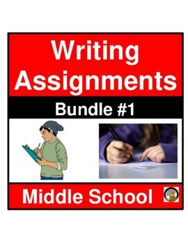WRITING ASSIGNMENT- SET 1- LANGUAGE ARTS- NO PREP