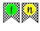 WRITING BANNER--Polkadots & Bright Colors